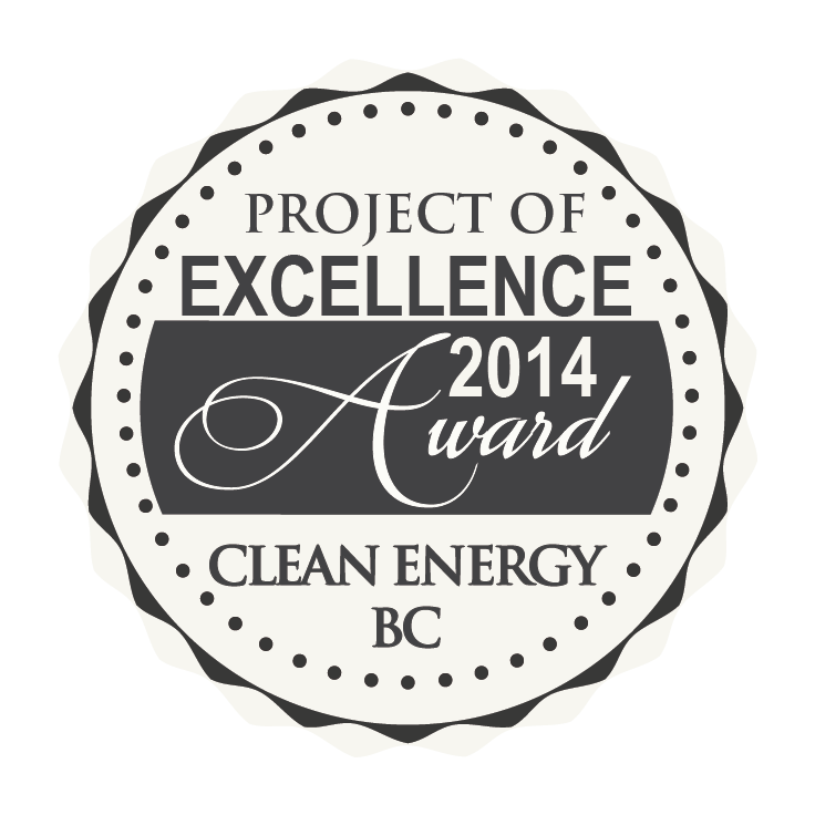 2014 Award of Excellence AltaGas Hydro Project BC Canada