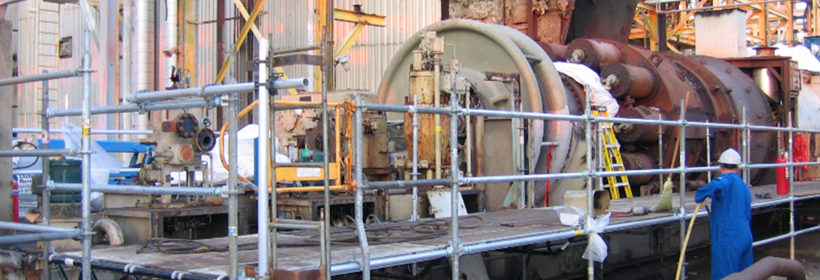 Centrifugal Compressor Removal